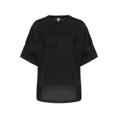 ロエベ LOEWE T シャツ ブラック M コットン 100% / ポリウレタン T シャツ