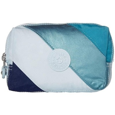 キプリング Elin Pouch レディース Bag and Travel Accessories Blue Mix Block