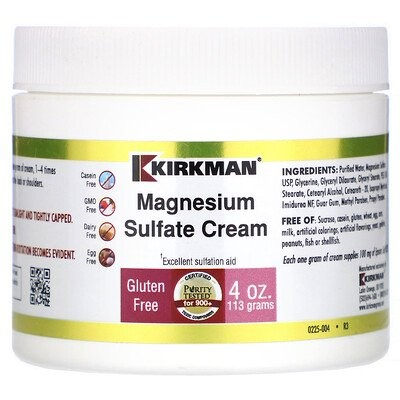硫酸マグネシウムクリーム, 4オンス (113 g)