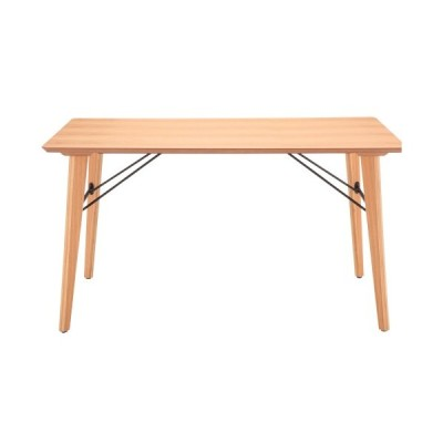 木製ダイニングテーブル 天板幅1350ミリ Ante アンテ TDT-1336 ナチュラル