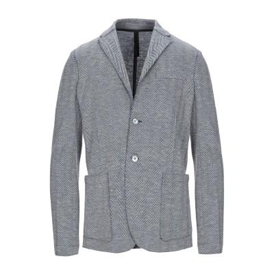 ハリス・ワーフ・ロンドン HARRIS WHARF LONDON テーラードジャケット ブルー 48 バージンウール 49% / シルク 30% /