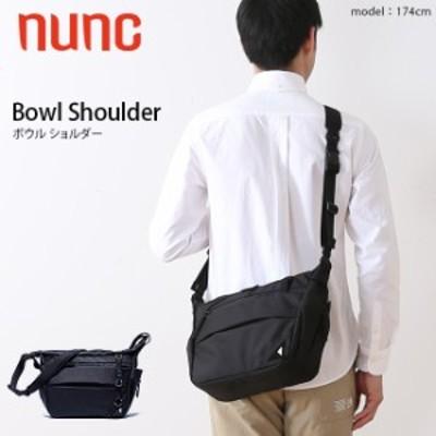 nunc ヌンク ボウルショルダー ショルダーバッグ 斜め掛け 肩掛け NN010010