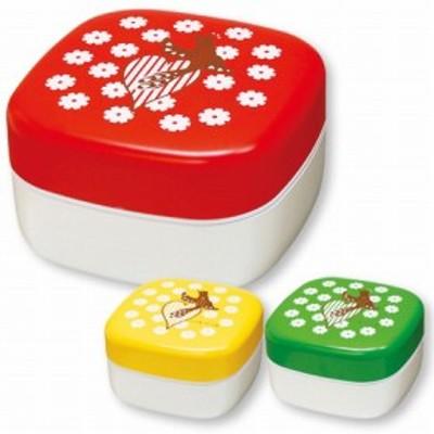 ピクニックランチボックス お弁当箱 isso ecco ハミングバード ( お重 運動会 行楽 ピクニック ファミリーランチボックス 御重 重箱