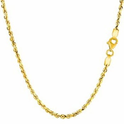 """14K Yellow Gold Filled Solid Rope Chain Necklace, 2.1mm, 26"""""""