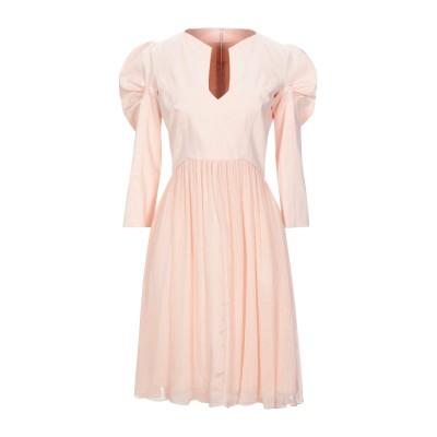 ジェニー GENNY ミニワンピース&ドレス ライトピンク 38 アセテート 81% / シルク 19% / コットン ミニワンピース&ドレス