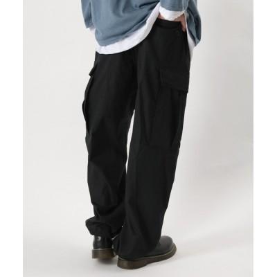 make a ray! / バルーンワイドカーゴパンツ 6ポケットパンツ リップストップ MEN パンツ > カーゴパンツ