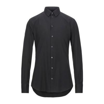ドルチェ & ガッバーナ DOLCE & GABBANA シャツ ブラック 40 コットン 68% / シルク 32% シャツ