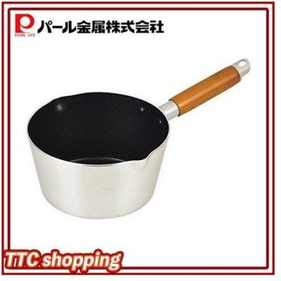 パール金属 雪平鍋 16cm ガス火専用 アルミ フッ素加工 行平鍋 ファントゥメイク HB-2926