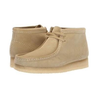 Clarks クラークス レディース 女性用 シューズ 靴 ブーツ チャッカブーツ アンクル Wallabee Boot - Maple Suede