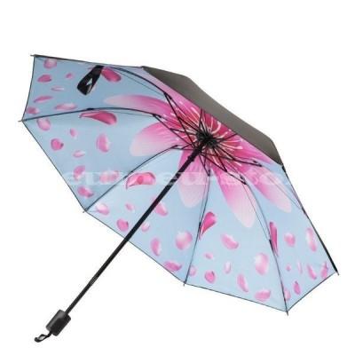 折りたたみ傘 折り畳み傘 レディース 女性用 日傘 小さい 軽い ミニ コンパクト 晴れ 雨 兼用 日焼け止め 紫外線対策 通勤 通学 花 花びら 服