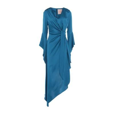 KITAGI® ミニワンピース&ドレス ディープジェード 42 レーヨン 100% ミニワンピース&ドレス