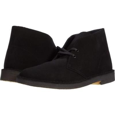 クラークス Clarks メンズ ブーツ シューズ・靴 Desert Boot Black Suede 1