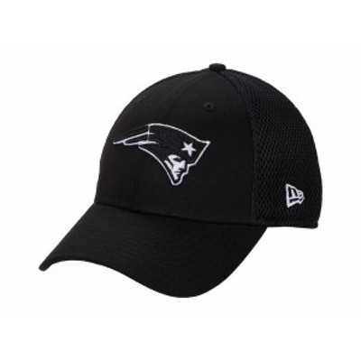 ニューエラ メンズ 帽子 アクセサリー NFL Stretch Fit Neo 3930 -- New England Patriots Black