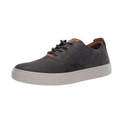 ECCO Men's Kyle CVO Oxford Sneaker, Moonless/Lion Oil Nubuck, 12-12.5