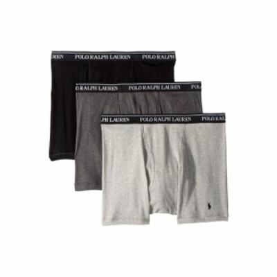 ラルフ ローレン Polo Ralph Lauren メンズ ボクサーパンツ 3点セット Classic Fit w/ Wicking 3-Pack Boxer Briefs Andover Heather/Mad
