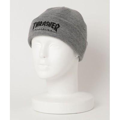 ムラサキスポーツ / THRASHER/スラッシャー ビーニー 20TH-N52 MEN 帽子 > ニットキャップ/ビーニー
