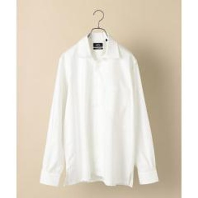 シップスSHIPS×IKE BEHAR: アメリカ製 オックスフォード オープンカラー シャツ【お取り寄せ商品】