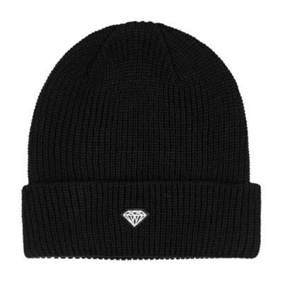 ダイヤモンド DIAMOND/BRILLIANT PATCH BEANIE ( BLACK ) ビーニー