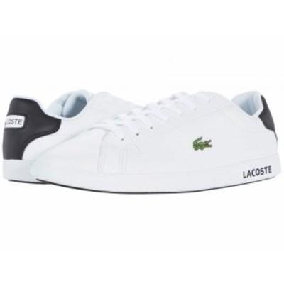 Lacoste ラコステ メンズ 男性用 シューズ 靴 スニーカー 運動靴 Graduate 0120 2 White/Black【送料無料】