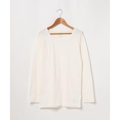 tシャツ Tシャツ 【HANES/ヘインズ】UNDER PLUS WARM−T HW4−S504 あたたかいロングTシャツ 裏起毛