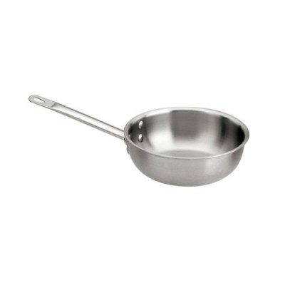 World Cuisine 12513-24 Stainless Steel Executive Splayed Saute Pan 3.0 Qts.