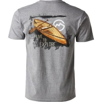 マジェランアウトドア Tシャツ トップス メンズ Magellan Outdoors Men's My Kind of Day Short-Sleeve Graphic T-shirt Gray