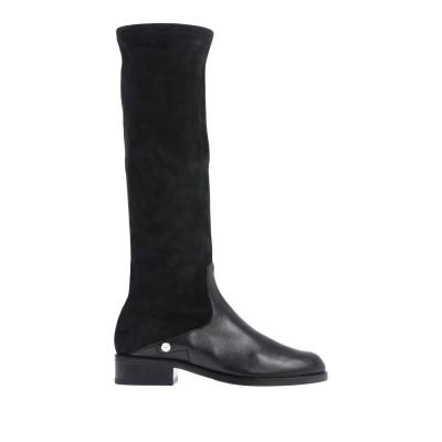 BALLY ブーツ ブラック 38.5 羊革(ラムスキン) ブーツ