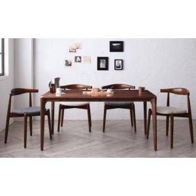 ダイニングテーブルセット 4人用 椅子 おしゃれ 安い 北欧 食卓 5点 ( 机+スタッキングチェア4脚 ) 幅150 デザイナーズ クール スタイリ