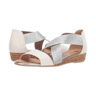 Eric Michael エリックマイケル レディース 女性用 シューズ 靴 サンダル Mia - White/Silver