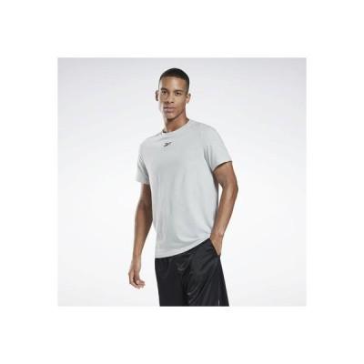 リーボック Reebok ワークアウト レディ メッシュTシャツ / Workout Ready Mesh T-Shirt (グレー)
