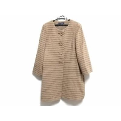 エムズグレイシー M'S GRACY コート レディース - ベージュ 長袖/冬【中古】20201211