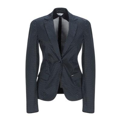 リュー ジョー LIU •JO テーラードジャケット ダークブルー 48 コットン 97% / ポリウレタン 3% テーラードジャケット