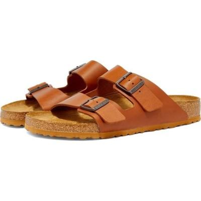 ビルケンシュトック Birkenstock メンズ サンダル シューズ・靴 Arizona Natural Cognac Smooth Leather