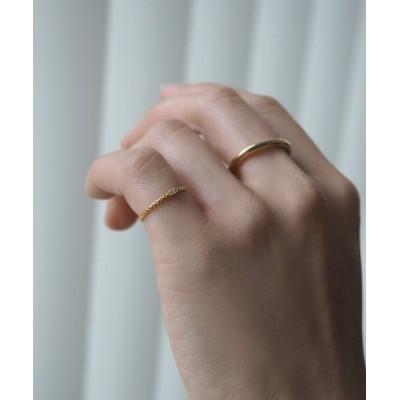 指輪 silver925 一粒ピンキーリング