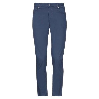 MASSIMO BRUNELLI パンツ ブルー 29 コットン 97% / ポリウレタン 3% パンツ