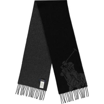 ラルフ ローレン Polo Ralph Lauren メンズ マフラー・スカーフ・ストール Jacq Scarf Polo Black