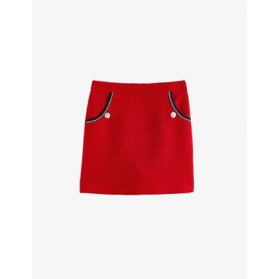 クローディ ピエルロ CLAUDIE PIERLOT レディース ミニスカート スカート Sirot tweed mini skirt RED