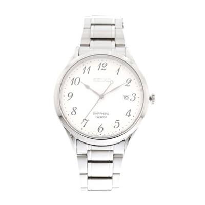 セイコー 腕時計 メンズ SEIKO5 セイコー5 SEIKO ホワイト シルバー