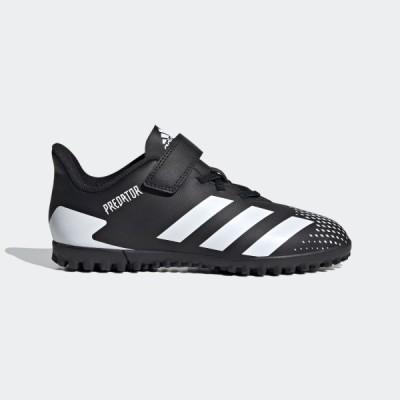 紐なし ジュニア サッカートレーニングシューズ アディダス adidas プレデター 20.4 H&L TF ブラック×ホワイト FW9225 2020Q3 店舗在庫