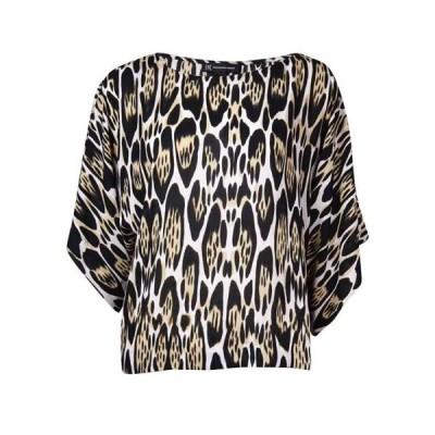 レディース 衣類 トップス INC International Concepts Women's Dolman Animal Print Top ブラウス&シャツ