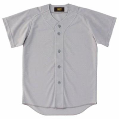 少年用ユニフォームシャツ【ZETT】ゼットヤキュウソフトユニフォーム シャツJR(BU2071-1300)