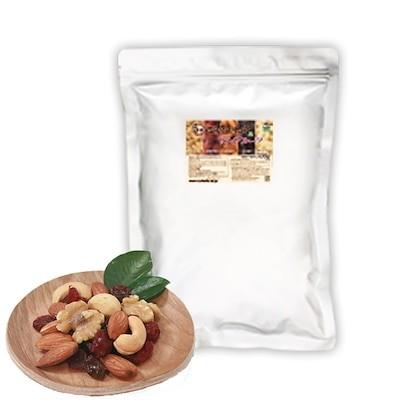 プレミアム5種ミックスナッツ&ドライフルーツ 700g アーモンド 生くるみ カシューナッツ等