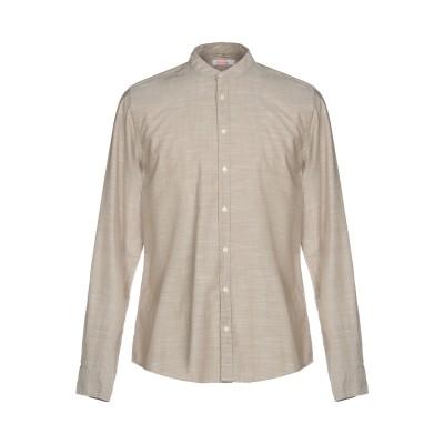 サンシックスティエイト SUN 68 シャツ ベージュ XL コットン 100% シャツ