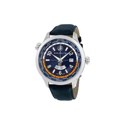 ブルックリンウォッチ 腕時計 Brooklyn カジュアル Cadman スイス クォーツ GMT メンズ 腕時計