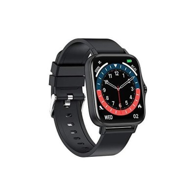 1.7inch Screen Smart Watch for Women/Men IP67 Waterproof for Android/iOS Phone Receive/Make Calls Health Monitoring Fitness Tracker with ( C