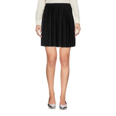 メット MET JEANS ミニスカート ブラック XS ポリエステル 65% / レーヨン 35% ミニスカート