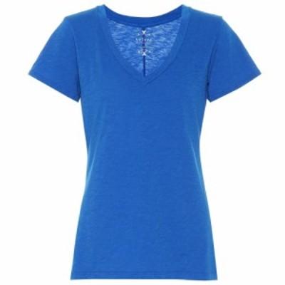 ベルベット グラハムandスペンサー Velvet レディース Tシャツ トップス Cotton T-shirt pacific