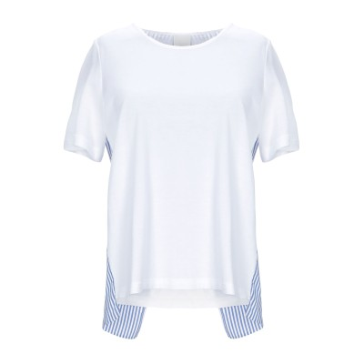 ゴータ GOTHA T シャツ ホワイト 0 コットン 100% / シルク / ナイロン / ポリウレタン T シャツ
