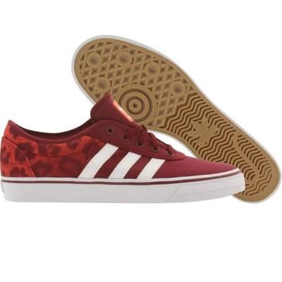 アディダス Adidas Skate メンズ スニーカー シューズ・靴 Adi Ease burgundy/cburgu/ftwwht/solred