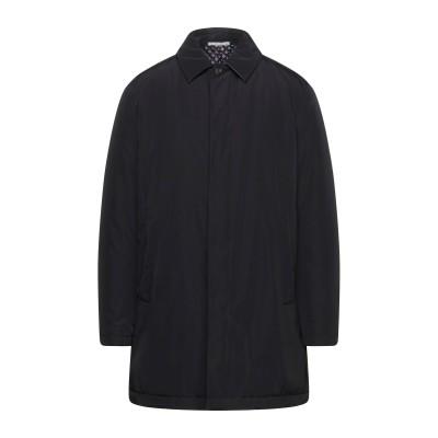 パル ジレリ PAL ZILERI コート ブラック 58 ポリエステル 100% / コットン / レーヨン コート